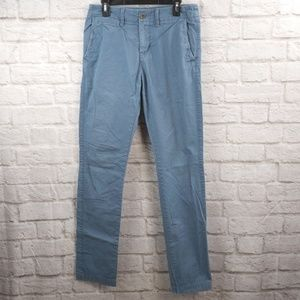 American Eagle Outfitters Slim Straight Chino Blue